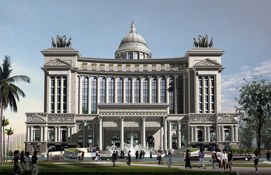 欧式新古典酒店设计,欧式风格酒店设计说明