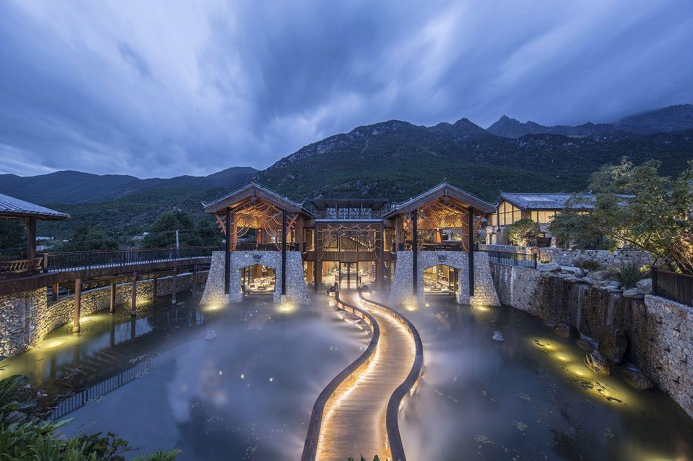 绵阳度假简约风格酒店设计 乡村特色酒店设计图片
