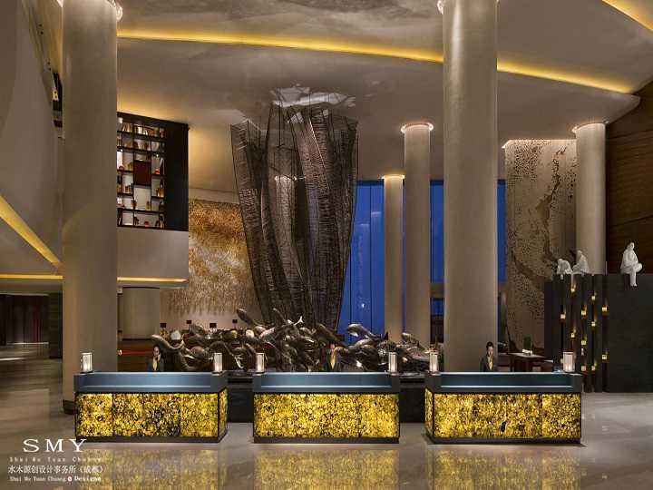 简约风格酒店设计