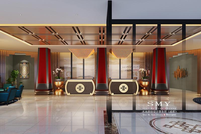 炉霍雅砻酒店设计